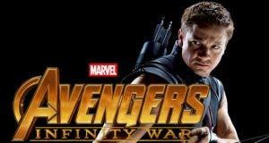 Ojo de Halcón en Vengadores: Infinity War (2018)