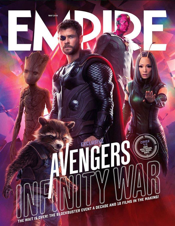 Portada de Empire Magazine | Vengadores: Infinity War
