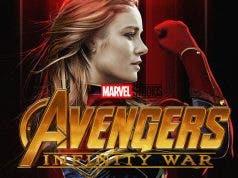 Capitana Marvel en Vengadores: Infinity War (2018)