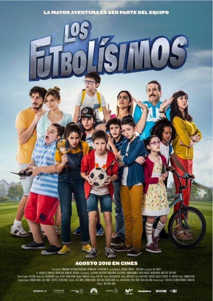 Póster de Los Futbolísimos, la nueva película de Miguel Ángel Lamata