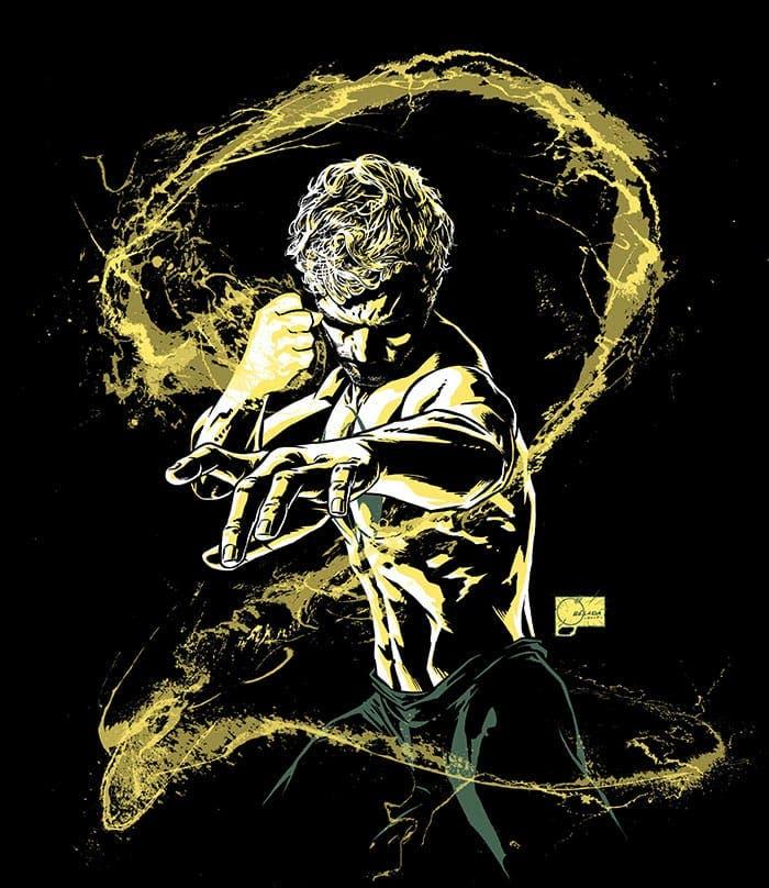 Póster de la temporada 2 de Iron Fist (Marvel/Netflix)