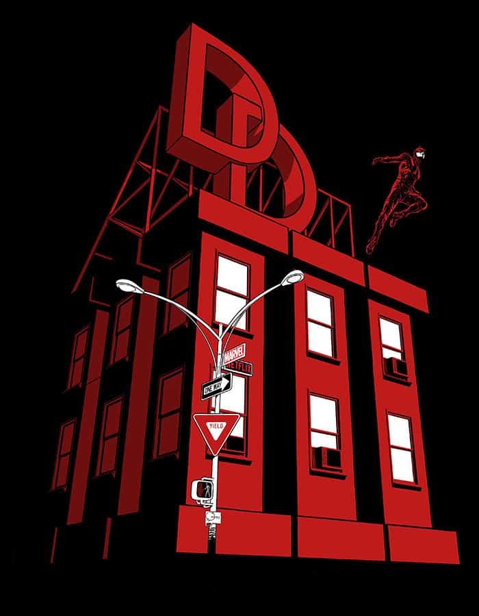 Póster de la temporada 3 de Daredevil