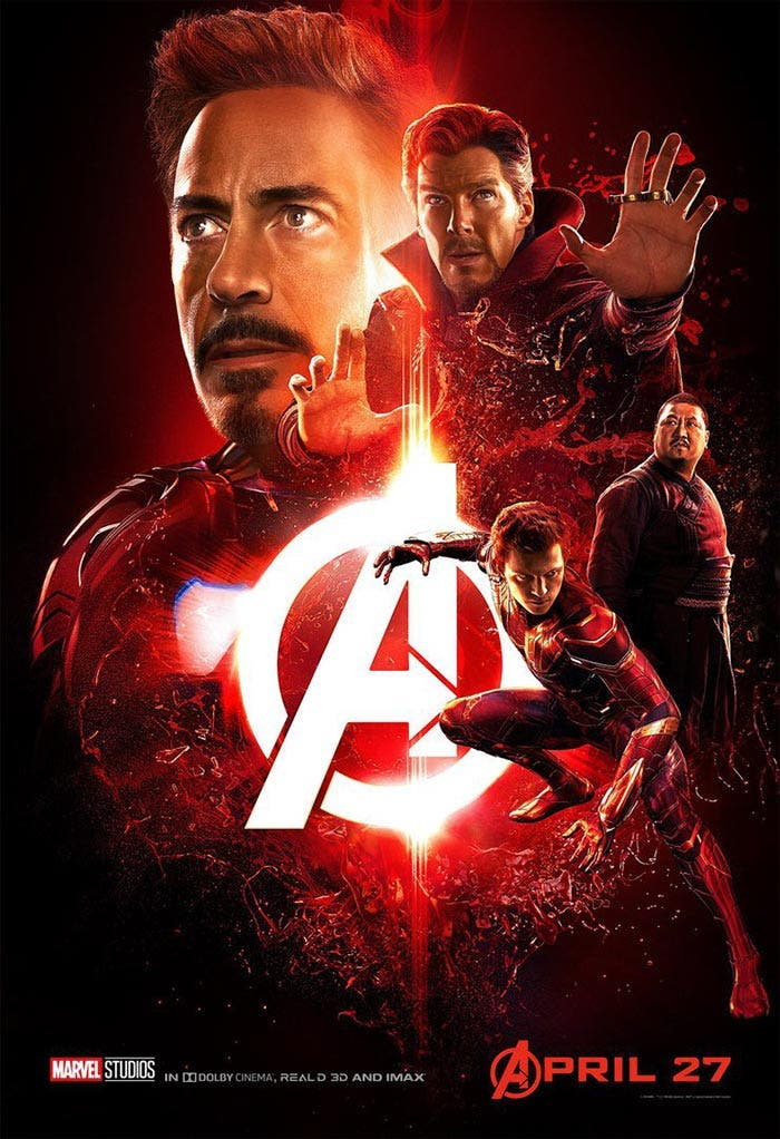 Póster de Vengadores: Infinity War (2018)