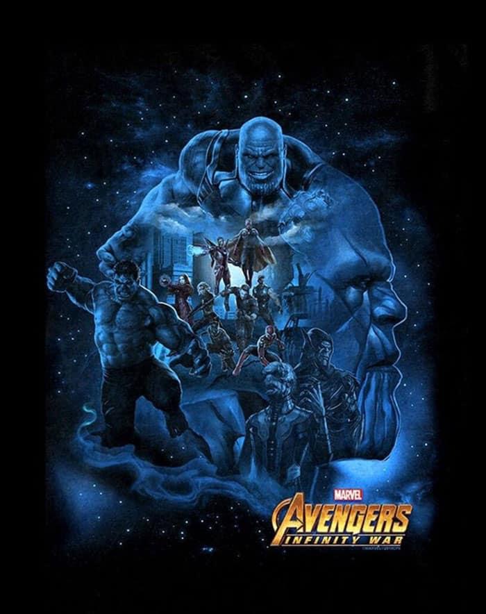 Promo art de Vengadores: Infinity War