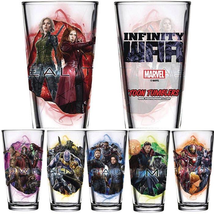 Las tazas de Vengadores: Infinity War (2018)