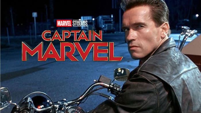 Terminator 2: El juicio final ha influido a Capitana Marvel