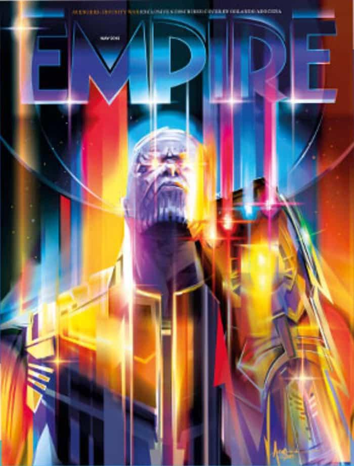Thanos (Vengadores: Infinity War), portada de Empire Magazine