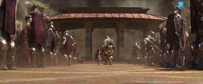 Thanos y Gamora en el nuevo tráiler de Vengadores: Infinity War