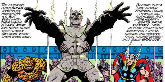 Thanos se convierte en piedra | 12 increíbles escenas que queremos ver en Vengadores: Infinity War