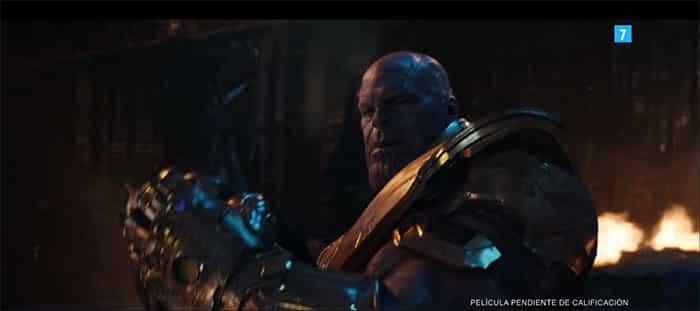 Thanos en el nuevo tráiler de Vengadores: Infinity War