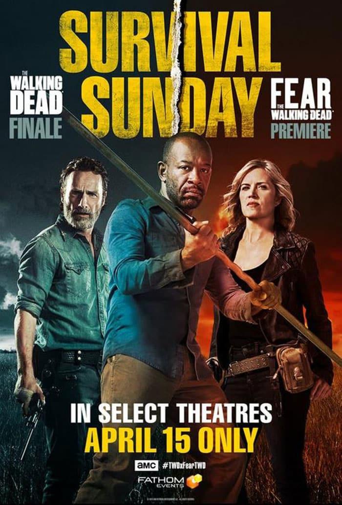 The Walking Dead se estrenará en cines