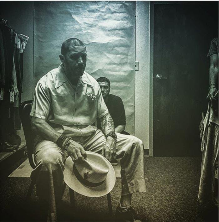 Primera imagen de Tom Hardy como Al Capone en Fonzo