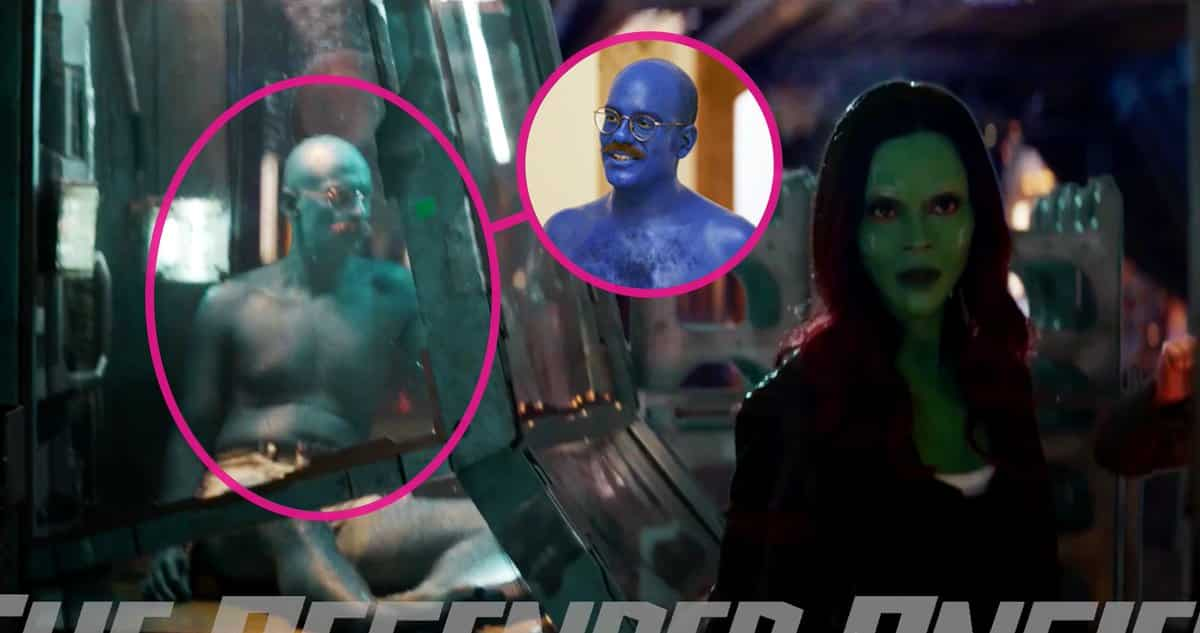 Blue Car In Guardians Of The Galaxy
