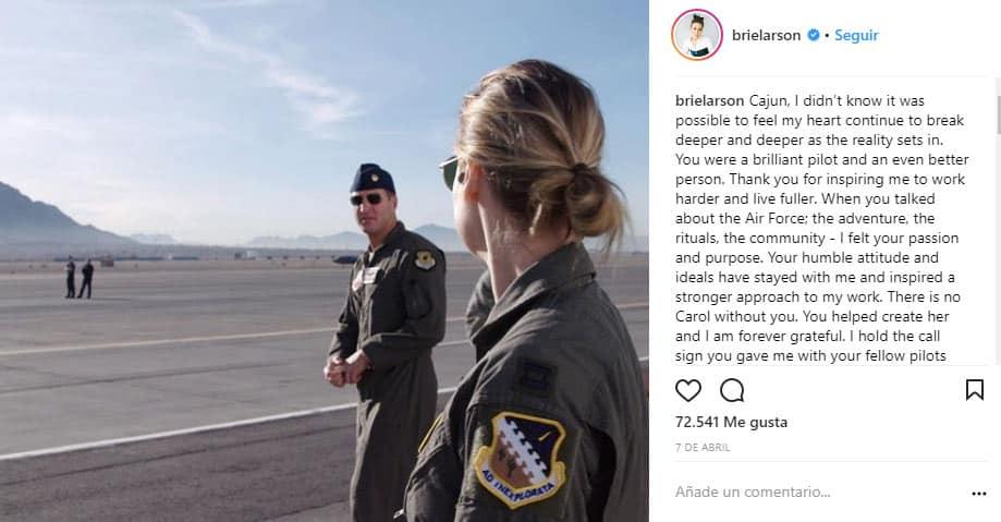 Brie Larson rodaje Capitana Marvel
