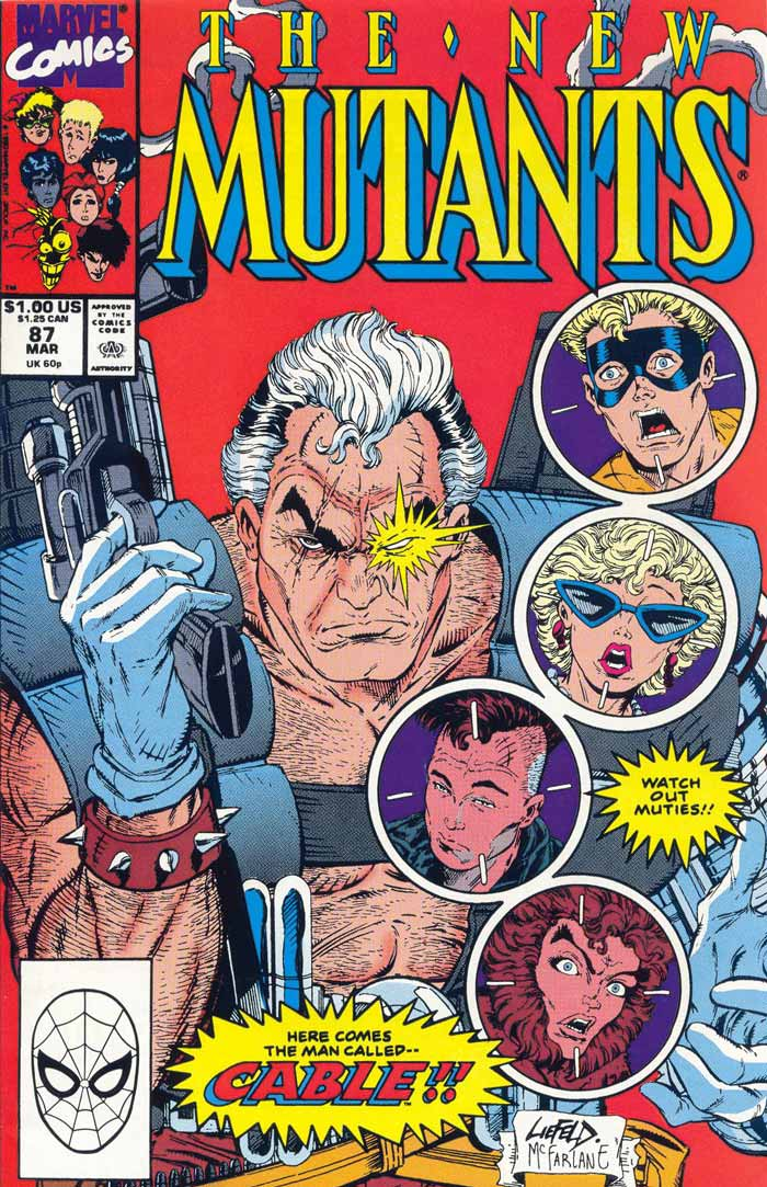 Cable The New Mutants Nº 87