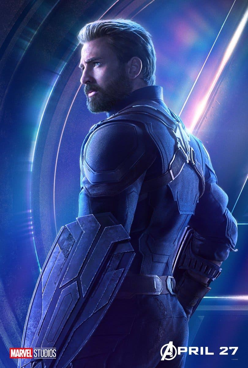 Capitán América en Vengadores: Infinity War (2018)