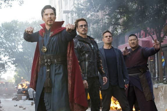 Vengadores 4 | Doctor Strange - Hulk en Vengadores infinity war