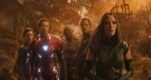Fotograma de Vengadores infinity war