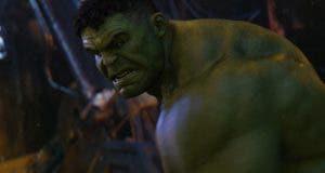 Hulk en Vengadores infinity war