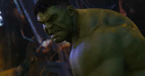 Vengadores 4 . Mark Ruffalo Hulk en Vengadores infinity war