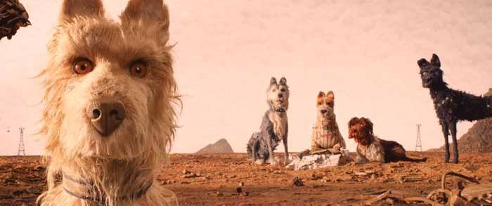Isla de Perros de Wes Anderson