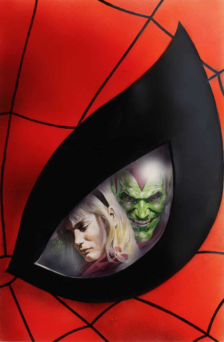 Portada Marvels de Alex Ross y Kurt Busiek