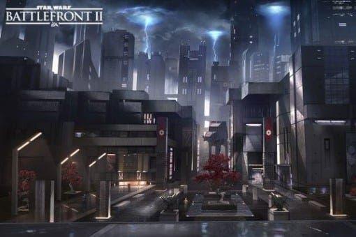 Star Wars Battlefront II - Concept Art - Nicolas Ferrand
