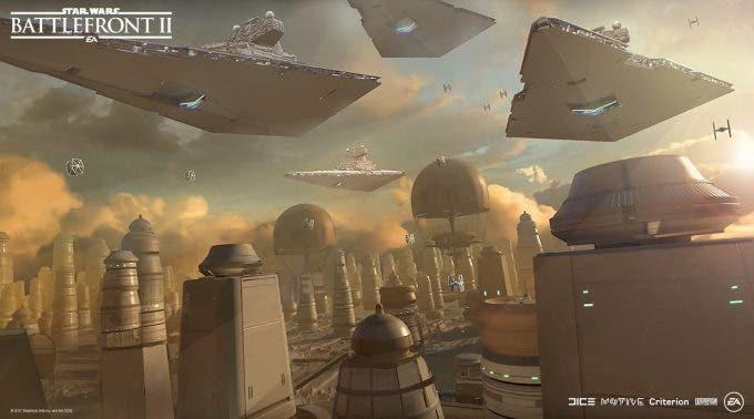 Star Wars: Battlefront II - Concept Art - Nicolas Ferrand