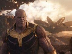 Thanos Vengadores: infinity war