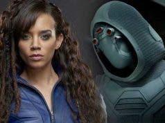 Hannah John-Kamen es Ghost en Ant-Man y la Avispa