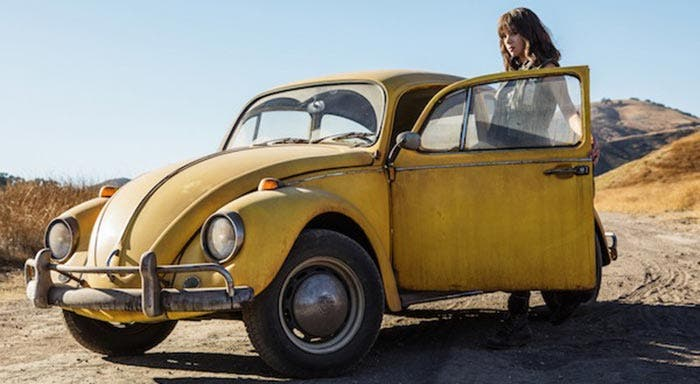 El adelanto de Bumblebee, spin-off de Transformers