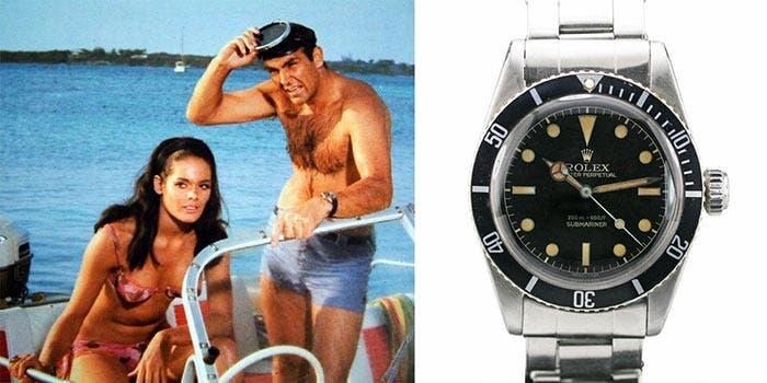 'Agente 007 contra el Dr. No' (Rolex Submariner 6538) | Los 5 relojes más legendarios de la historia del cine