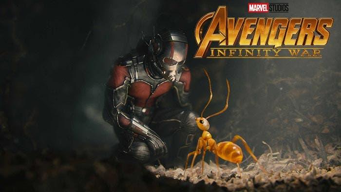 Ant-Man en Vengadores: Infinity War