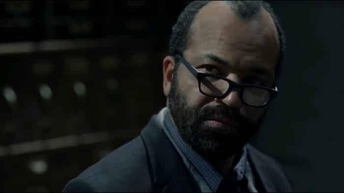 Bernard en el 2x09 de Westworld