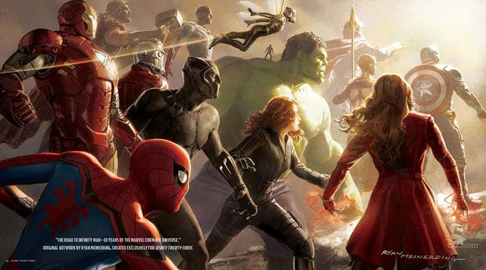 El concept art de Vengadores: Infinity War (2018)