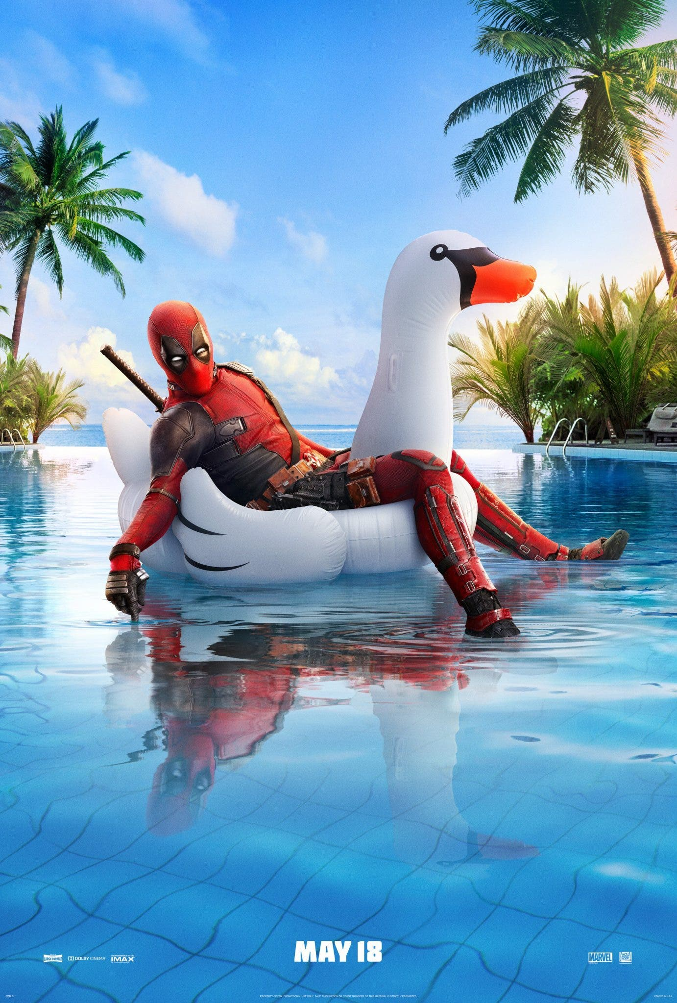 Deadpool 2 nuevo póster