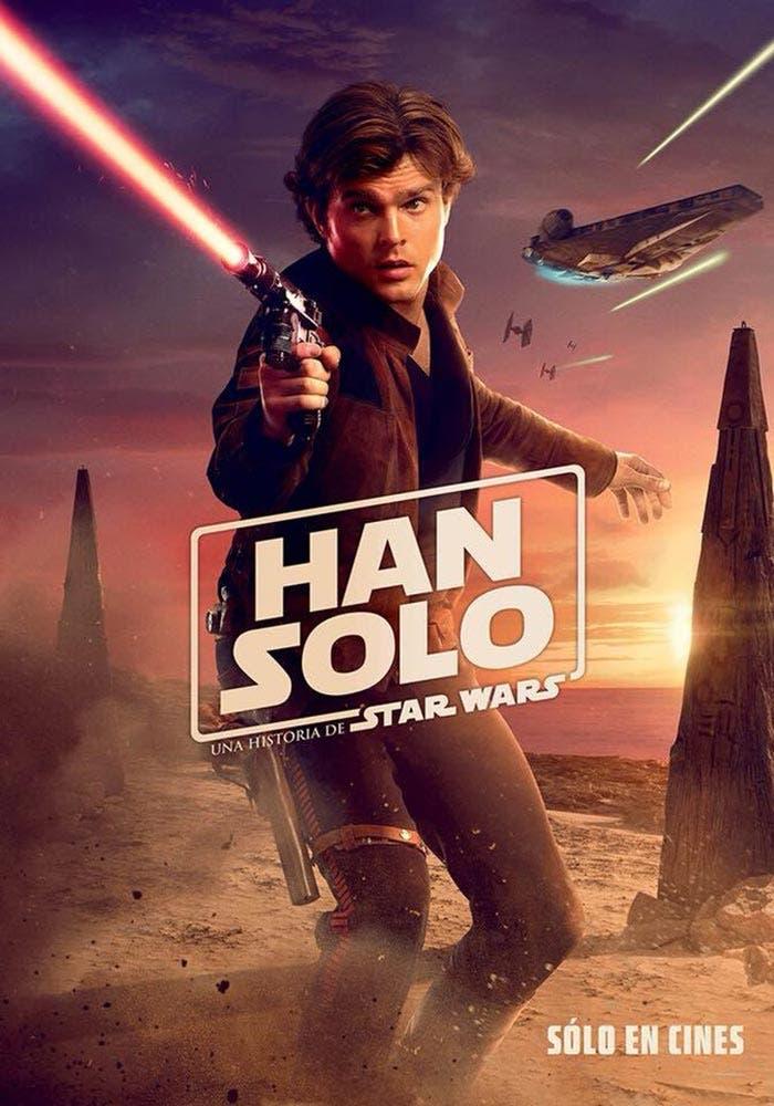 Alden Ehrenreich es Han Solo en Star Wars
