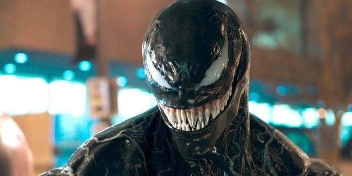 Imagen oficial de Tom Hardy como Venom
