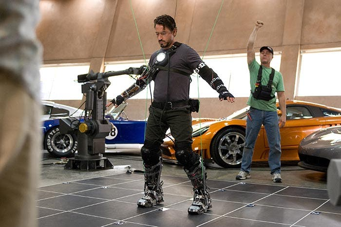 Imagen nunca antes vista en Iron Man (2008) | Marvel Studios