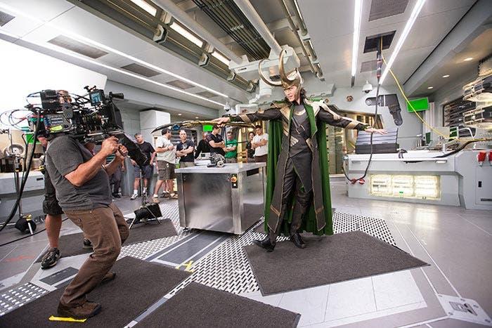 Imagen nunca antes vista en Los Vengadores (2012) | Marvel Studios