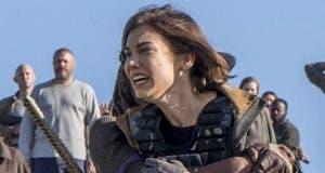 Lauren Cohan es Maggie en The Walking Dead