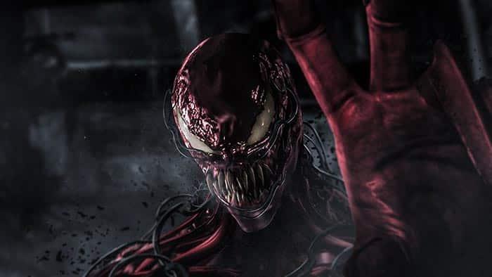 Fan art de Matanza (Carnage) en Venom