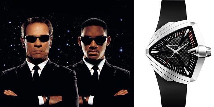 'Men in Black' (Hamilton Ventura XXL) | Los 5 relojes más legendarios de la historia del cine