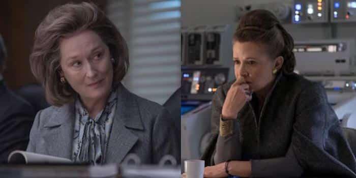 Meryl Streep podría suplantar a Carrie Fisher como Leia en Star Wars 9 (2019)