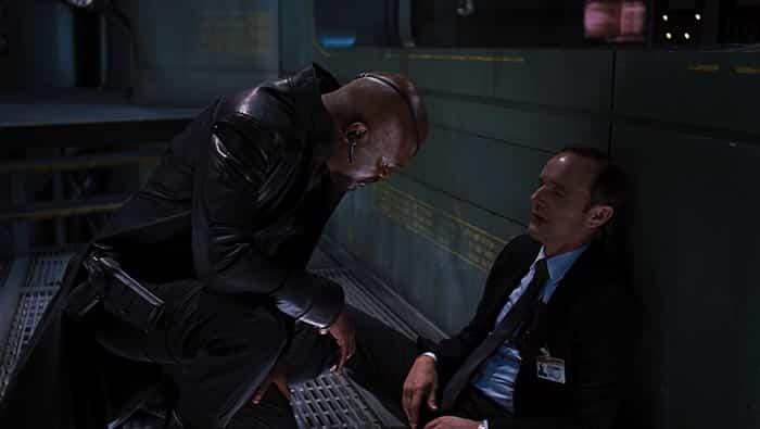 Nick Furia y Agente Coulson