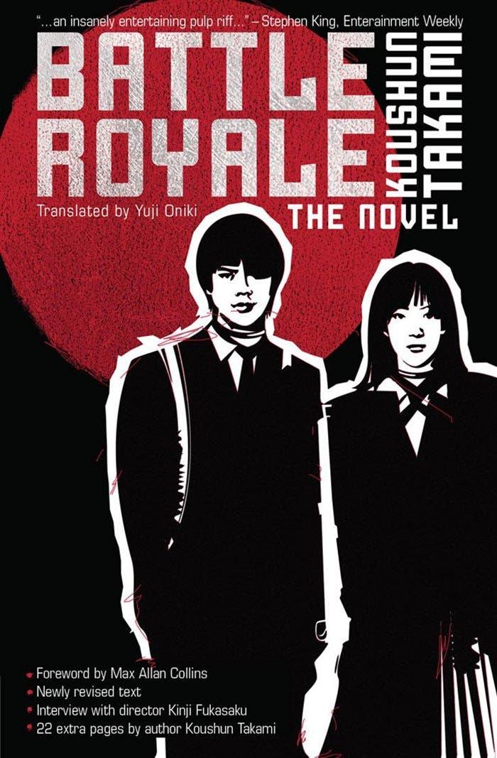 La novela de Battle Royale