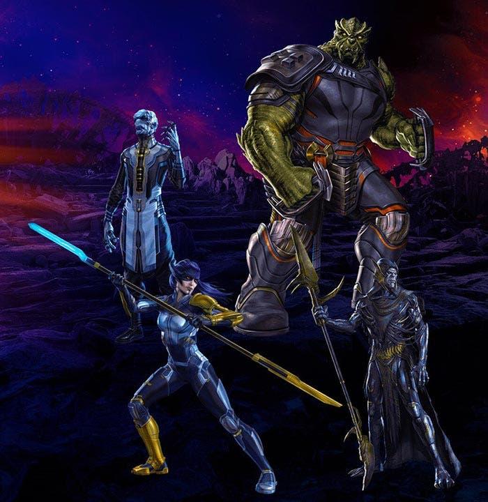 La Orden Oscura de Thanos en Vengadores: Infinity War