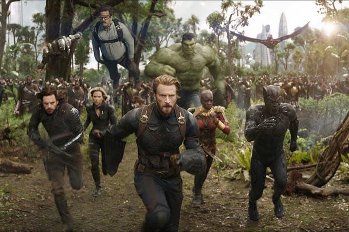 Peter en Vengadores: Infinity War