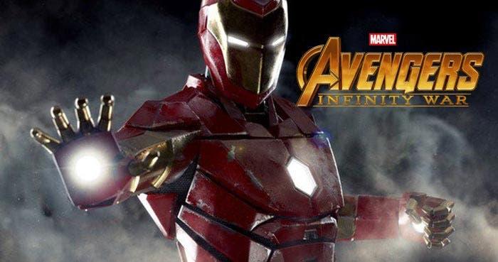 Los nuevos poderes de Iron Man en Vengadores: Infinity War (2018)