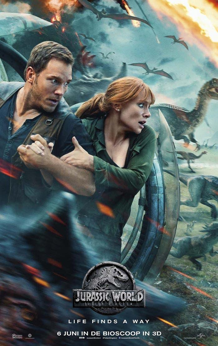 Póster internacional de Jurassic World: El reino caído